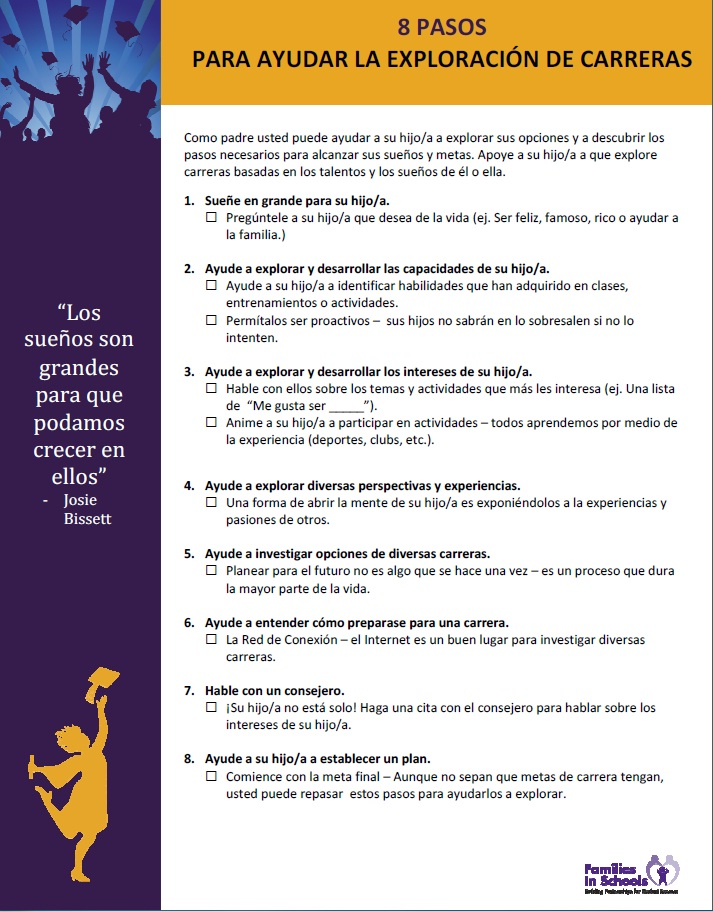 Family Learning Tips Families In Schools