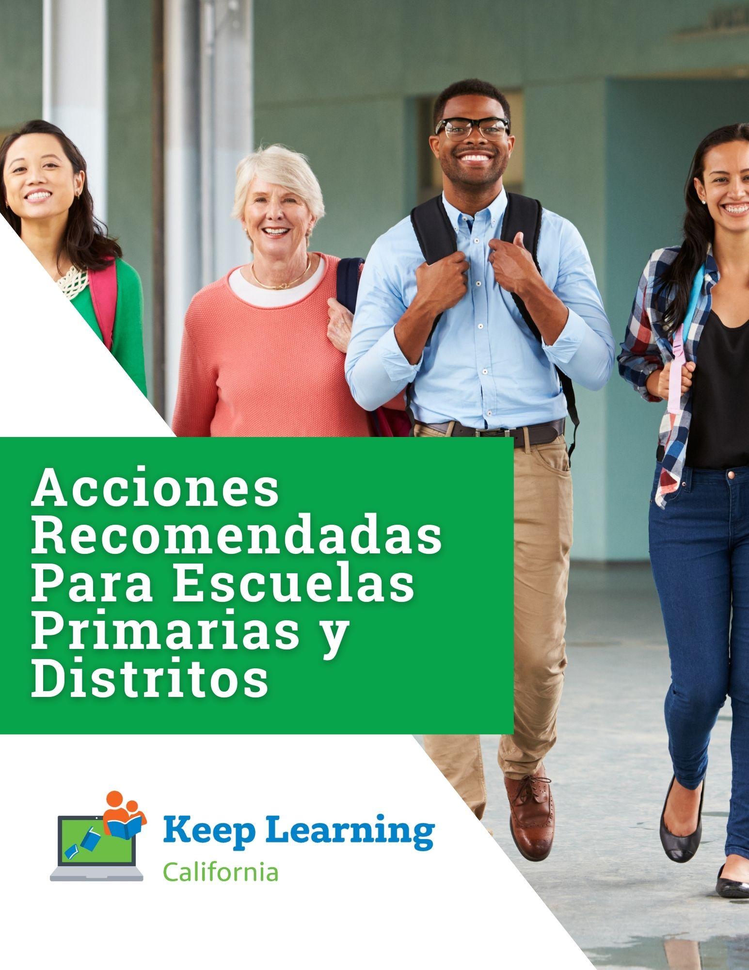 PDF – Acciones Recomendadas Para Escuelas Primarias y Distritos.