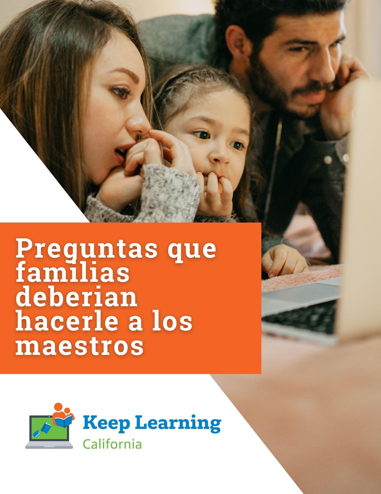 PDF – Preguntas que familias deberian hacerle a los maestros