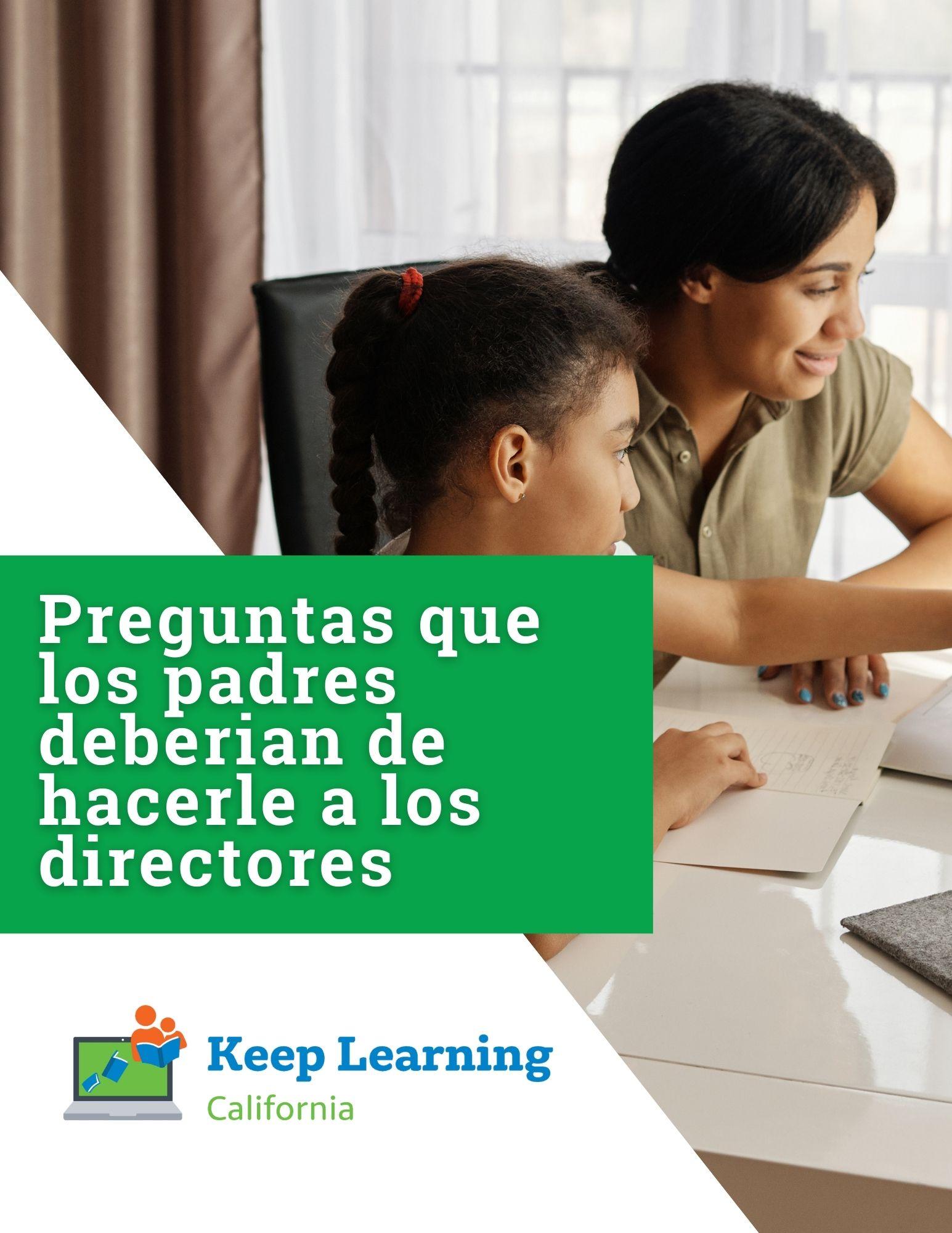 PDF – Preguntas que los padres deberian de hacerle a los directores