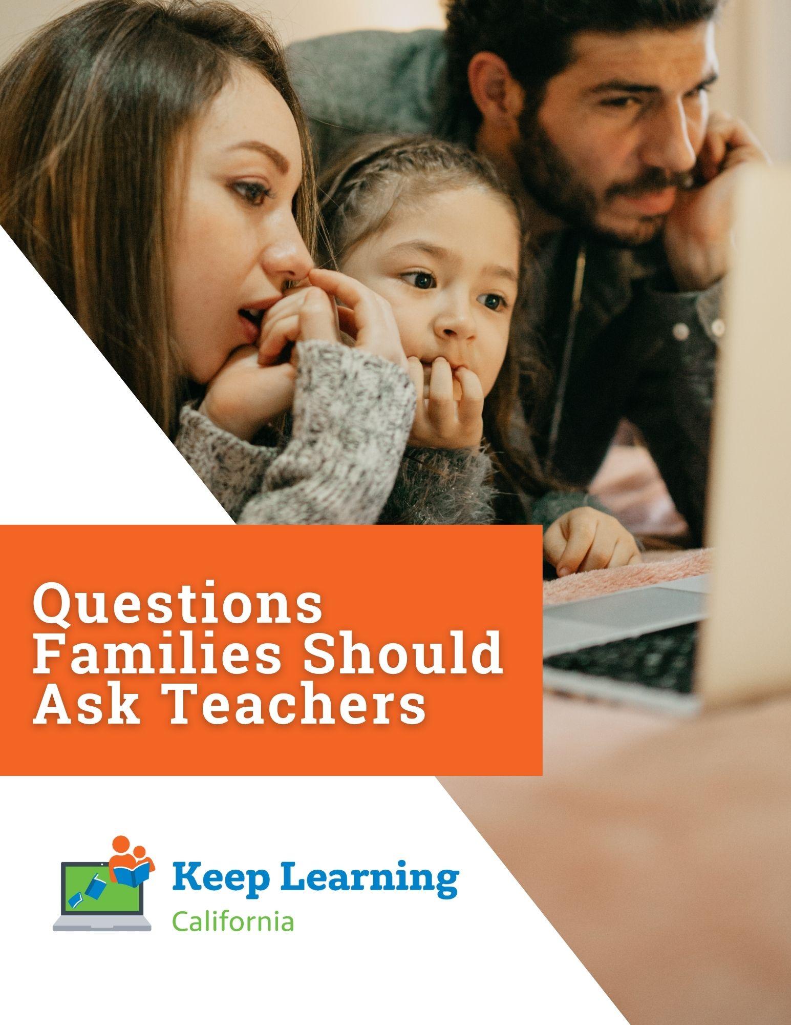PDF – Questions Families Should Ask Teachers